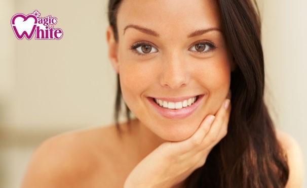 метод отбеливания зубов magic white